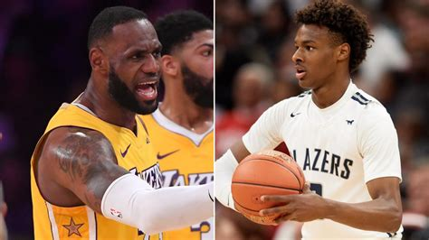 NBA news: LeBron James, Bronny James, video, Los Angeles ...