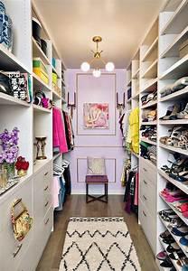 Glamorous Walk in Closet Organization Ideas with Nice ...