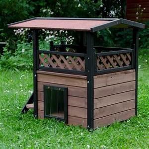 Maison Exterieur Pour Chat : maisonnette pour chat zooplus ~ Dailycaller-alerts.com Idées de Décoration