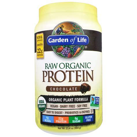 garden of protein garden of organic meal 664 gm chocholate