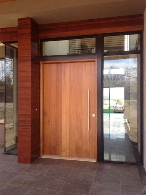 8 best images about modern wood front doors on