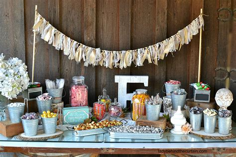 Candy Table Wedding Midway Media