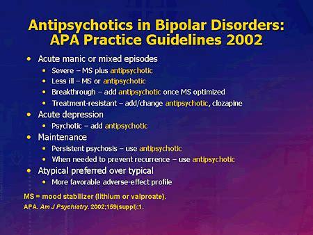 standards  care  treating schizophrenia