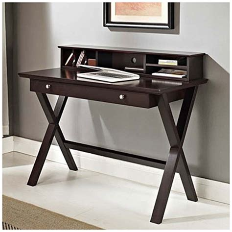 desk with lots of storage 42 quot desk with hutch at big lots in store 140 00