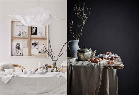 Easter Home Decor Styling: Inspirations In Scandinavian Style