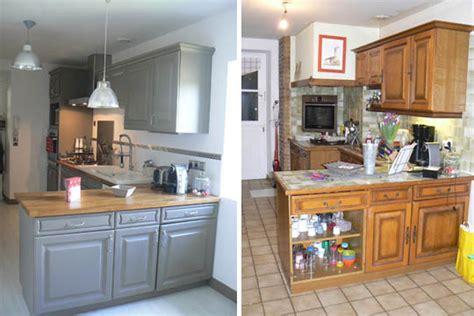 r ovation cuisine ancienne home staging cuisine avant après modernisez à petit prix