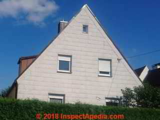 sources  replacements  asbestos cement wall siding