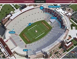 Florida Stadium Seating Chart Gameday Fsu Doak Ada Seat Map Wheelchair Travel
