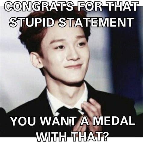 Funny Comeback Memes Tumblr - chen good comebacks and say that on pinterest