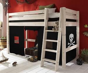Kinderzimmer Günstig Kaufen : piratenbett als midi hochbett pirat g nstig kaufen ~ Frokenaadalensverden.com Haus und Dekorationen