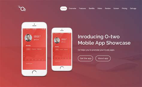 App Download Html5 Template by O2 Pro Premium Responsive App Landing Html5 Template