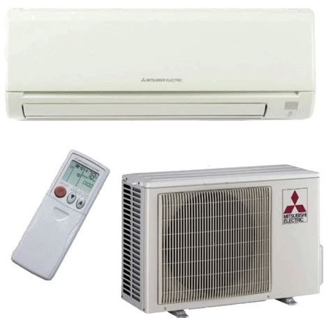 Mitsubishi Ductless Split System Air Conditioner by 24000 Btu Mitsubishi Mr Slim Ductless Mini Split Air