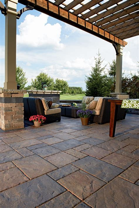 Unilock Patio Cost by Beacon Hill Flagstone Wilson Nurseries
