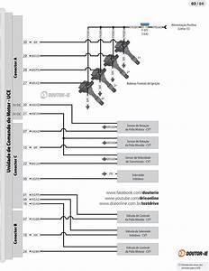Diagrama El U00e9trico Do Sistema De Inje U00e7 U00e3o Eletr U00f4nica Pgm Fi Que Equipa O Honda Fit  2004 A 2008