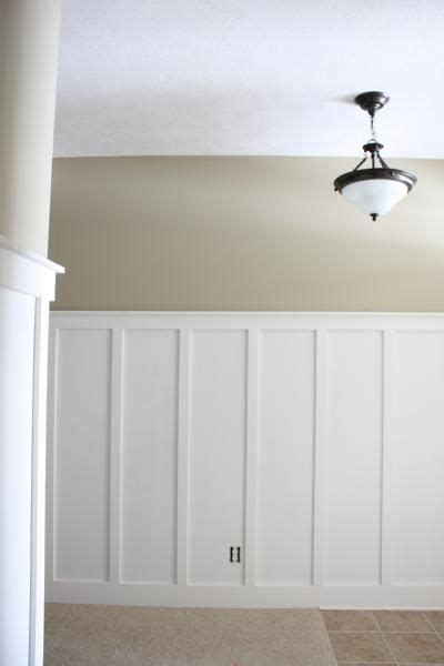 Best Adhesive For Wainscoting by Wall Color Is Behr Nile Sand Beautiful And Calm Neutral