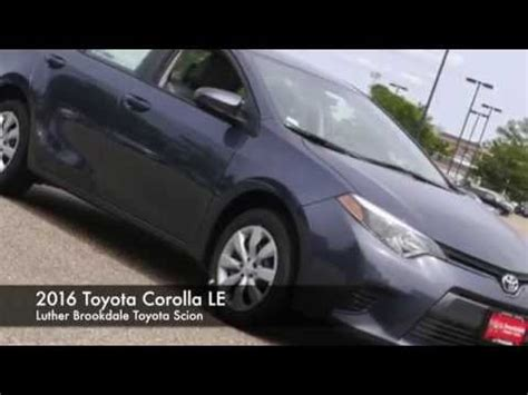 Brookdale Toyota by 2016 Toyota Corolla Le Luther Brookdale Toyota Scion In