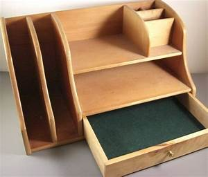 Best 25+ Wooden desk organizer ideas on Pinterest Cable