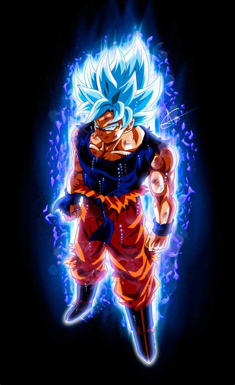 Goku Ultra Instinct SSJ Blue by ArlesonLui on DeviantArt