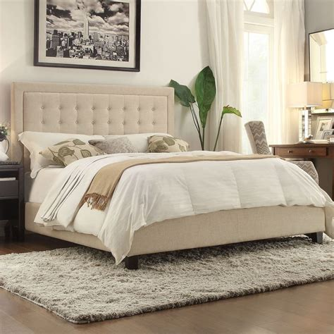 26474 beige tufted bed 1000 ideas about beige headboard on white