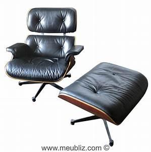 Fauteuil Charles Eames Original : fauteuil lounge chair et ottoman n 670 et n 671 par charles eames et ray eames meuble ~ Nature-et-papiers.com Idées de Décoration