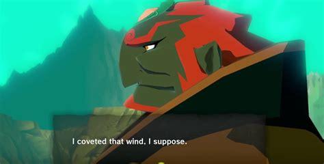 Zelda Windwaker Comparing Ganons Wind Speech Jpn