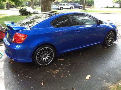 buy car manuals 2006 scion tc security system find used 2006 blue scion tc release series custom in new brunswick new jersey united states