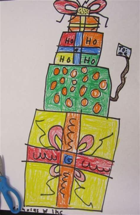 94 best elementary art christmas images on pinterest