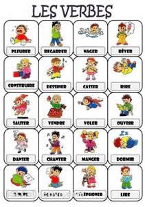 vocabulaire des verbes courants again juliette bourdier