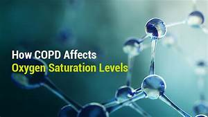 How Copd Affects Oxygen Saturation Levels