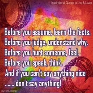 1000+ images about Do not make assumptions... on Pinterest ...
