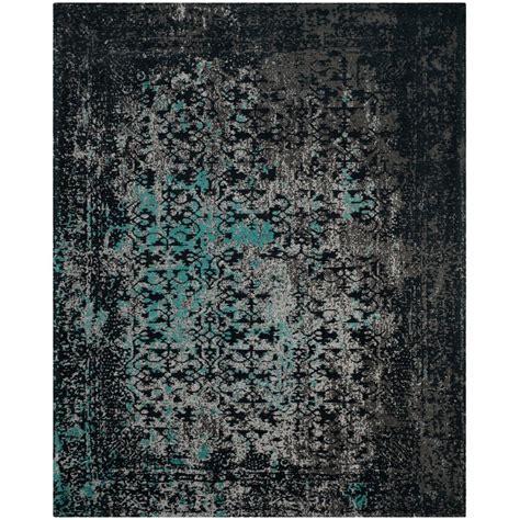 teal area rug 8x10 safavieh classic vintage navy teal 8 ft x 10 ft area rug