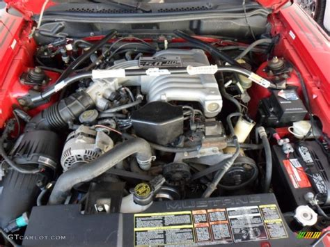 1994 Ford Mustang GT Boss Shinoda Coupe Engine Photos