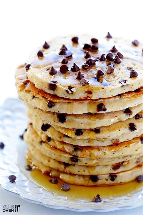 chocolate chip pancakes guilteless chocolate chip pancakes