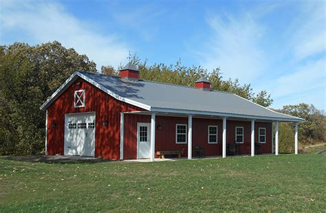 metal barn home plans this great metal building design for a ranch style house 7447