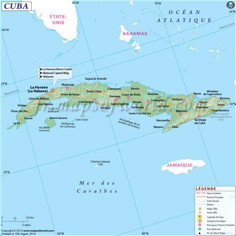Carte Du Monde Cuba by Cuba Carte Du Monde Arts Et Voyages