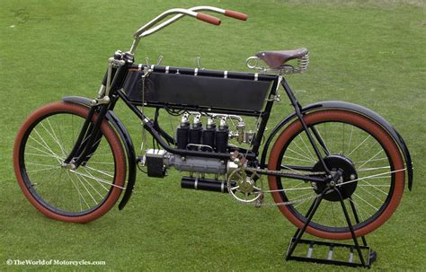 1904 Fn Fabrique Nationale Type A Four Vintage Motorcycle
