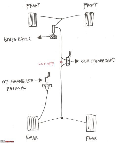 hydraulic handbrake team bhp