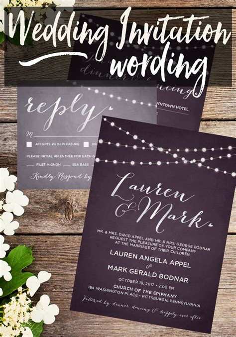 Ee  Wedding Ee    Ee  Invitation Ee    Ee  Wording Ee    E  A Taylor Bradford