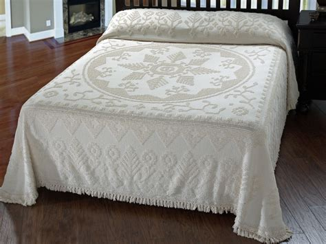 New England Antique Chenille Bedspread  The Trendy Bed