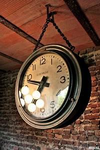 Grande Horloge Industrielle : horloge industrielle ~ Teatrodelosmanantiales.com Idées de Décoration