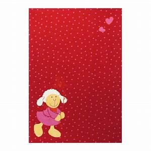 tapis enfant rouge sigikid schnuggi 120x170 With tapis rouge enfant