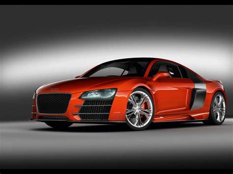 Cool Red Audi Sports Car Desktop