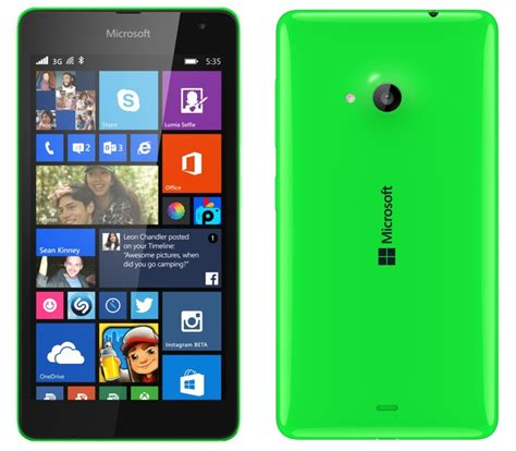 nokia lumia 535 akıllı telefon incelemesi tekno d 252 nya