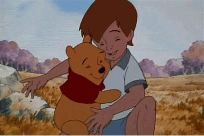 Hug Robin Christopher Friendship Pooh Winnie Animated