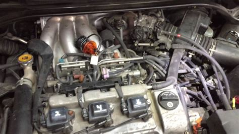 toyota camry solara    diagnosing engine
