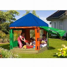 Sandkasten Toni Aus Holz Mit Dach Kinderpavillon