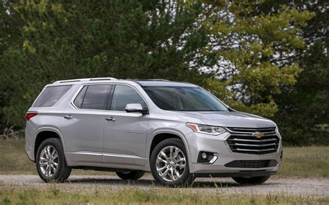 chevrolet traverse high country  suv drive