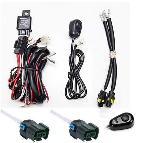 2013 Chevy Light Wiring Color by Chevy Silverado Fog Light Wiring Harness Kit 2007 2014