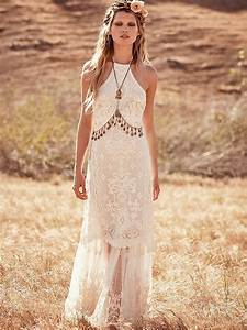 Boho chic wedding dresses for summer 2018 fashiongumcom for Boho dresses wedding