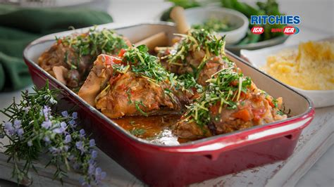 italian lamb shanks love food